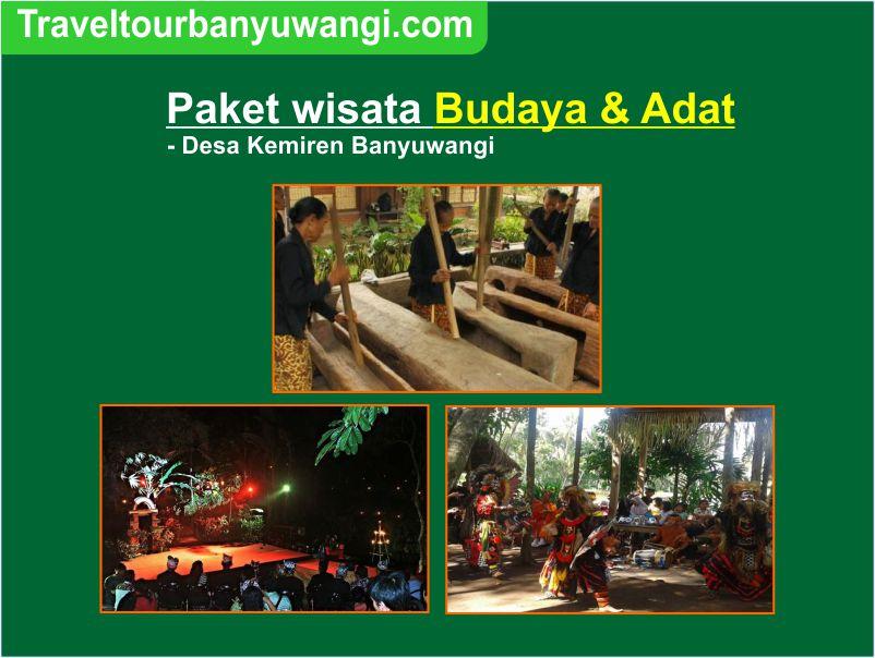Paket wisata Budaya & Adat Banyuwangi Desa Kemiren